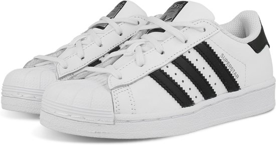 Wit Superstar Sneakers Maat Adidas Foundation Ba8378 31 Kinderen AXgnvz