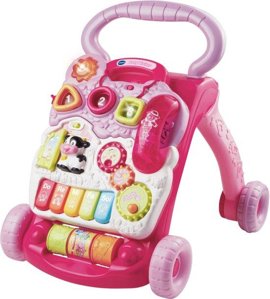Afbeelding van VTech Baby Baby Walker Roze - Loopwagen speelgoed