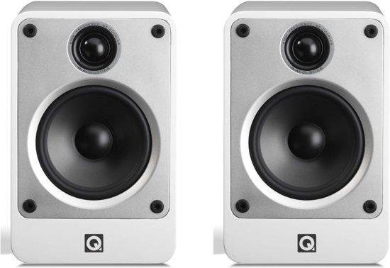 Q Acoustics Concept 20 - Boekenplank Luidspreker - Wit ( Per Paar )