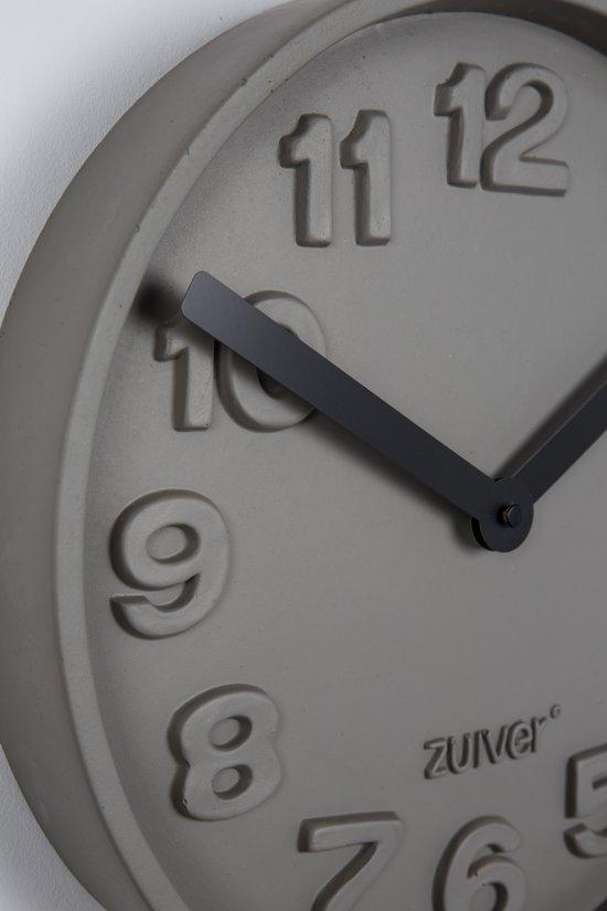 Zuiver Concrete Time Wandklok à 32 cm
