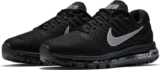 nike air max 2017 heren black