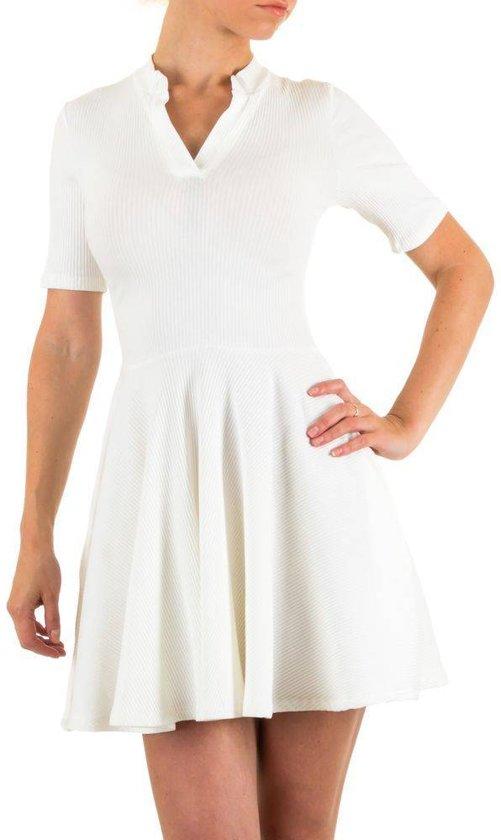 Dames jurk - Wit