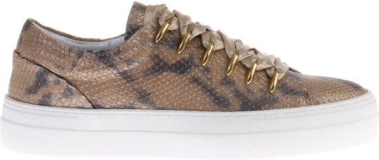 1784d7005ff bol.com   Gouden HIP D1278 Python Sneaker