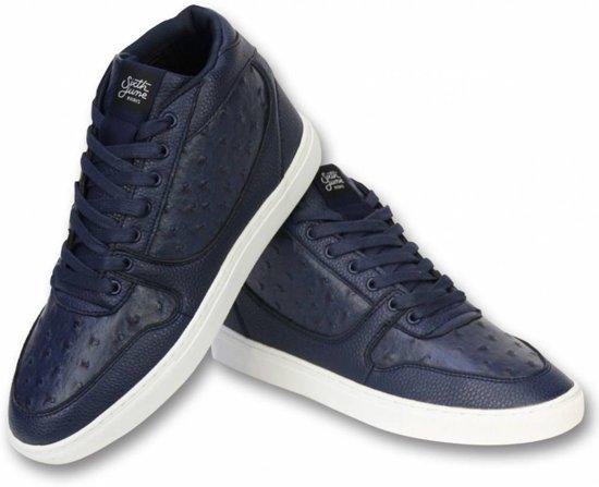 June Sneaker Navy 43 Peak Nation Sixth Heren Maten Schoenen 6B4W7RPq