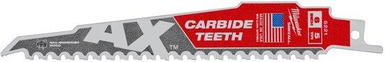 Milwaukee AX reciprozaagblad Carbide long life 150mm