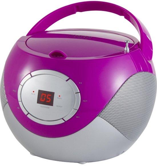 Adler AD 1125 Paarse Radio cd-speler