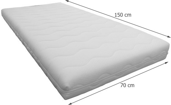 Slaaploods Eagle - Peutermatras - 70x150x12 cm - Soft