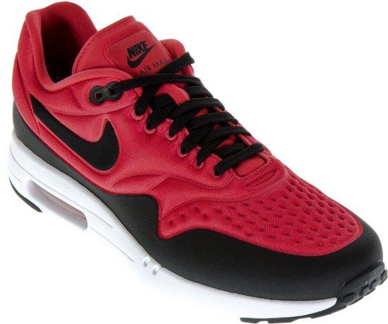 Kopen Nike Schoenen,Nike Air Max 1 SE Heren Zwart Rood Wit