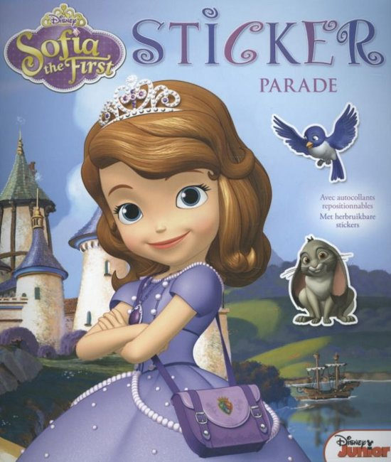 Disney Sticker Parade Sofia The First