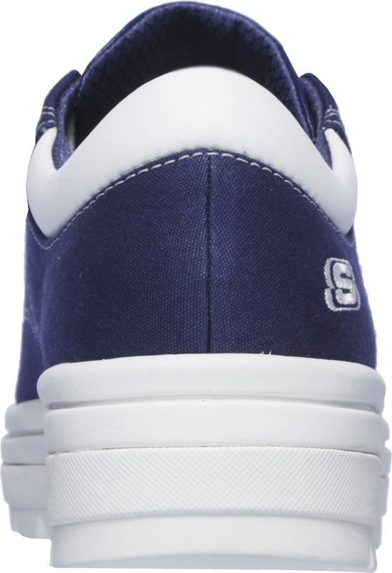 Navy Skechers Street Back bring Dames Sneakers Cleat Maat38 It nOvzq1O0F