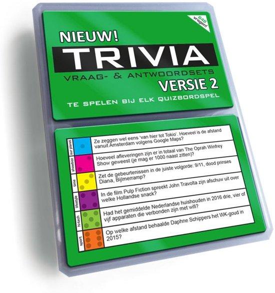 Trivia Vraag & Antwoordsets Versie Groen