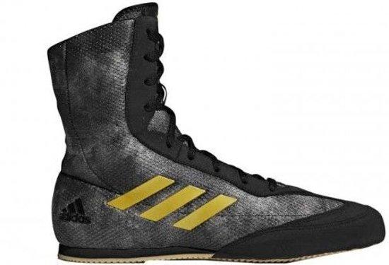3085a1a764e bol.com | Adidas Boksschoenen Box-Hog Plus Zwart/Goud-43 1/3