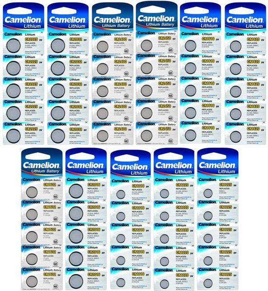 Camelion CR2025 lithium 3v 5-pack
