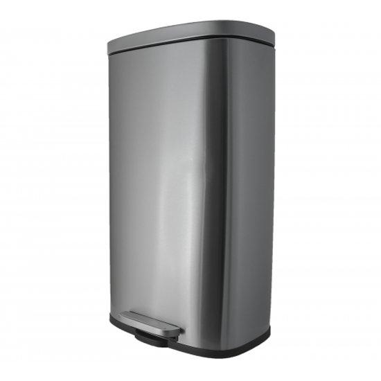Pedaalemmer 30 Liter.Afvalemmer Prullenbak Pedaalemmer 30 Liter Coninx Steeldesign Niyo
