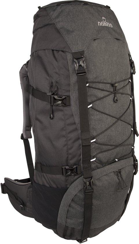 2d38190650f bol.com | Nomad backpack Karoo 60 liter - donkergrijs