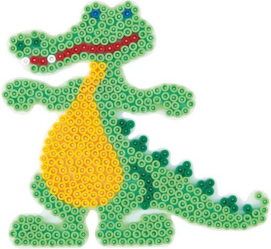 Grondplaat krokodil voor Hama midi strijkkralen