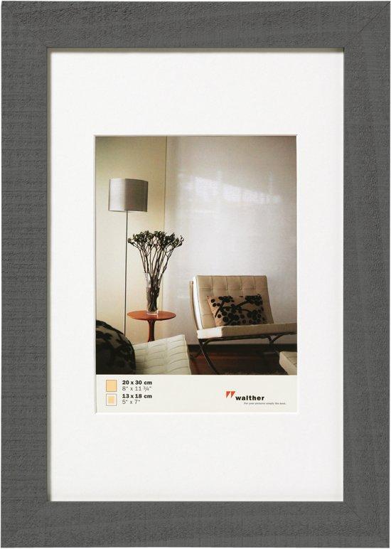 Posterlijsten 60 X 80.Walther Home Fotokader Fotomaat 60x80 Cm Grijs