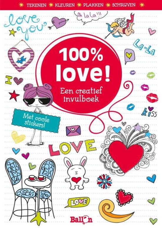 100 love een creatief vulboek