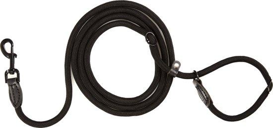 Pets&Partner® - Retrieverlijn voor hond - Halsband en lijn - Zwart