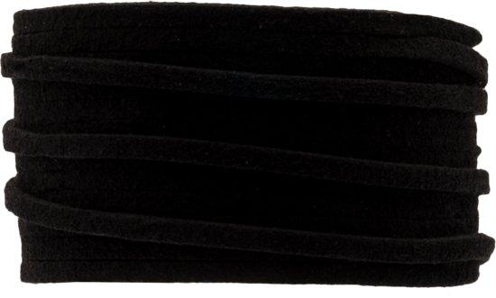 Faux Suede Veter (3 mm) Black (10 Meter)