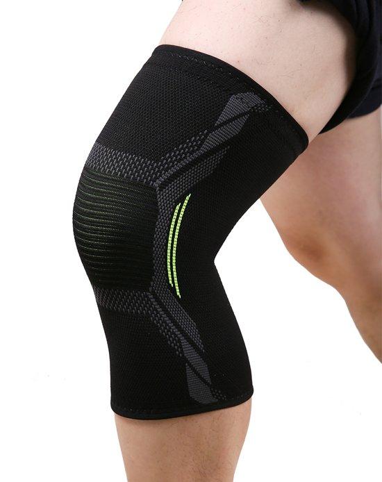 Knee sleeve | knie brace | knieband | knie bescherming | crossfit | fitness | hardlopen | wielrennen |compressieband | maat S