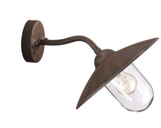 Massive Wandlamp Badkamer : Bol massive glasgow wandlamp roest