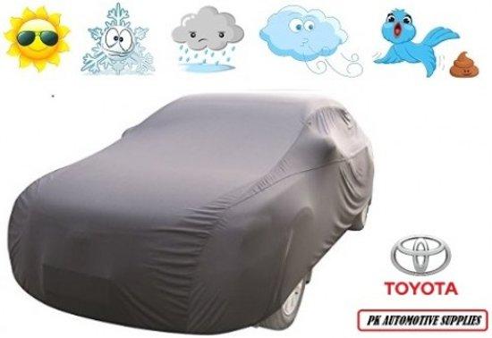 Autohoes Grijs Geventileerd Toyota Yaris 3 deurs 2003-2006
