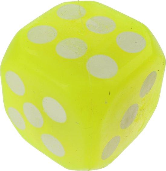 Afbeelding van het spel Amigo Dobbelsteen Met Lichteffect 4 Cm Lemon