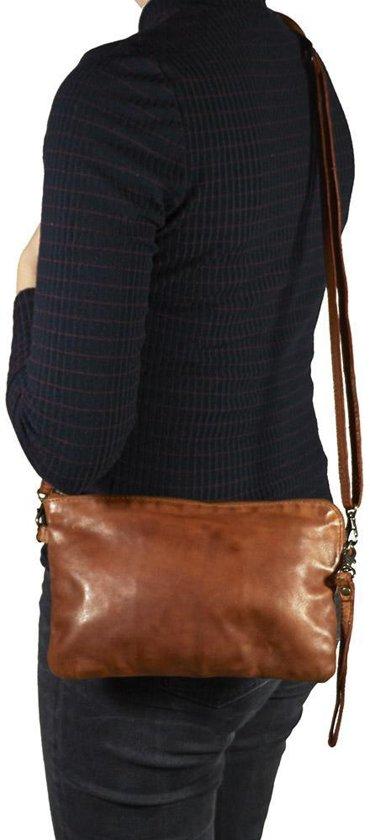 Bear Clutch Cognac Cl36222 Dori Design rxEQdoeWCB