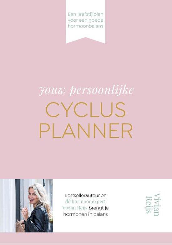 Boek cover Jouw persoonlijke cyclusplanner van Vivian Reijs (Hardcover)