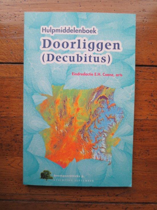 Hulpmiddelenboek doorliggen (decubitus) - none |