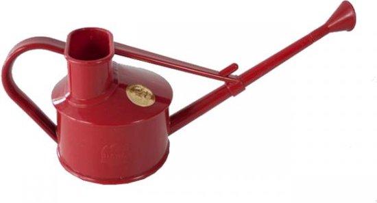 Gieter Haws 0,7 l kunststof - rood