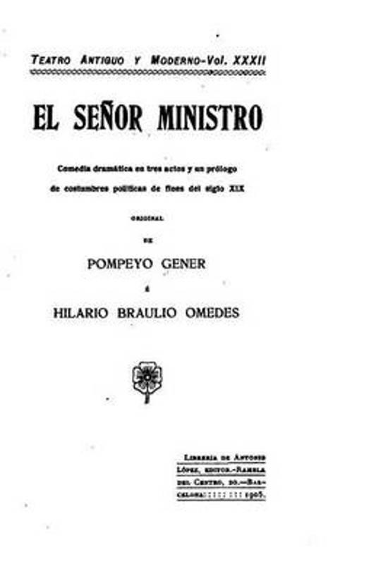 El Se or Ministro