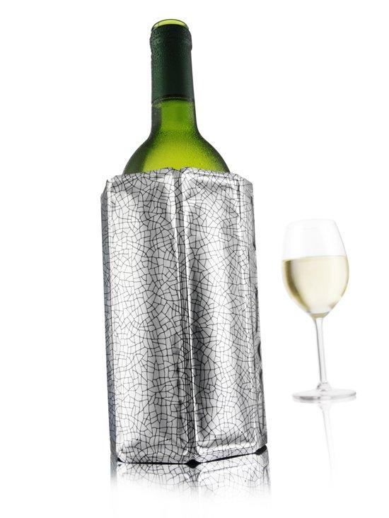 Vacu Vin Actieve Wijnkoeler - Zilver