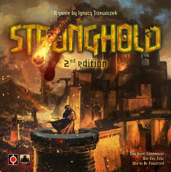 Thumbnail van een extra afbeelding van het spel Stronghold tweede editie - Bordspel - Engelstalig