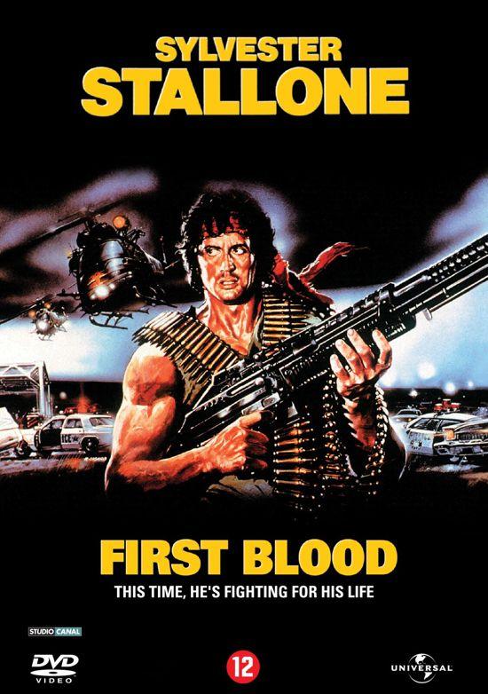Cover van de film 'Rambo - First Blood'