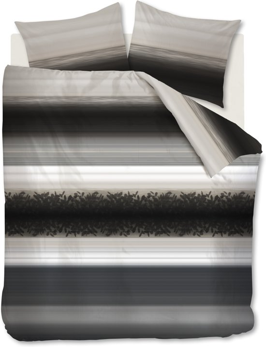 Beddinghouse Cinder - Dekbedovertrek - Lits-jumeaux - 240x200/220 cm - Grijs
