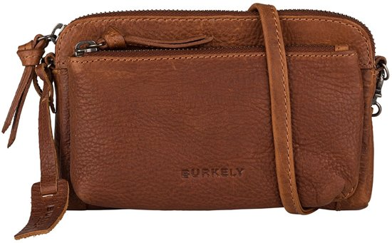08d4e69acc24c bol.com | BURKELY Antique Avery Mini Bag Schoudertas Cognac 871856