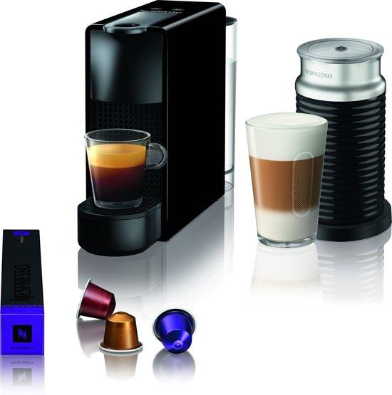 Krups Nespresso Essenza Mini XN1118 - Koffiecupmachine - Met melkopschuimer