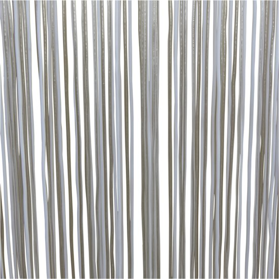 bol.com | Lesli Vliegengordijn Spaghetti wit 100x230cm