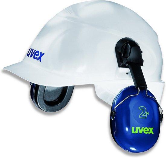 Uvex gehoorkap 2H met helmbevestiging (2500-021)