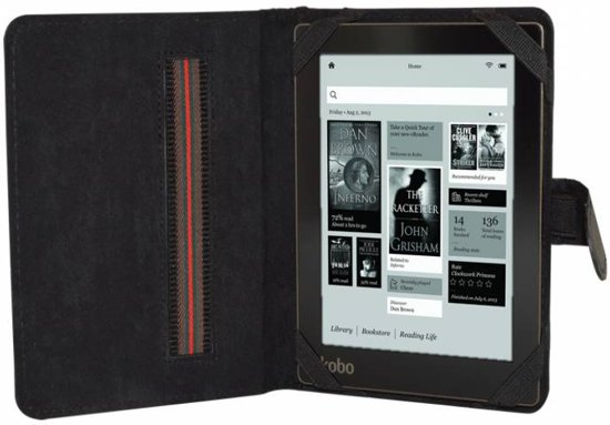 bol com | Pocketbook Sense eReader Hoesje, Book Cover, zwart , merk
