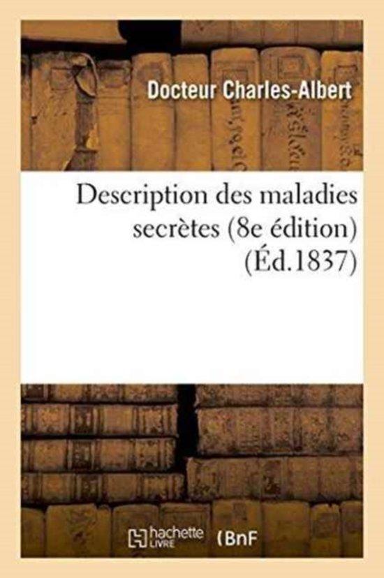 Description Des Maladies Secr�tes 8e �dition