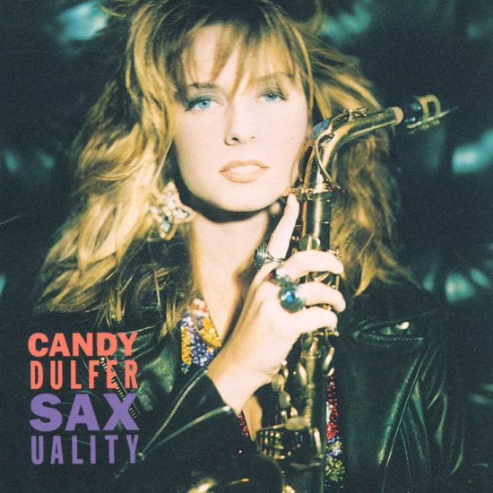 CD cover van Saxuality van Candy Dulfer