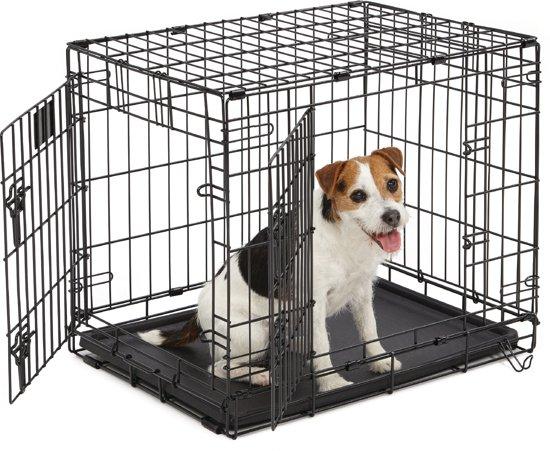 Petsore Hondenbench 2 Deurs - 61x46x51 cm - Zwart