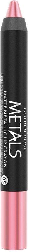 Metals Matte Metallic Lip Crayon 5