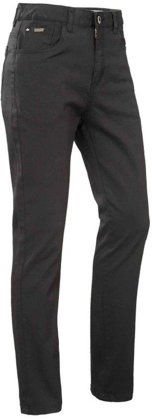 Bram's paris lily zwarte slim fit jeans hogere taille - Maat W40-L30