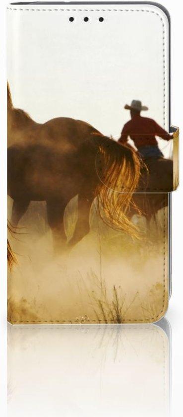 Motorola Moto G4 Play Uniek Design Hoesje Cowboy in De Kievit