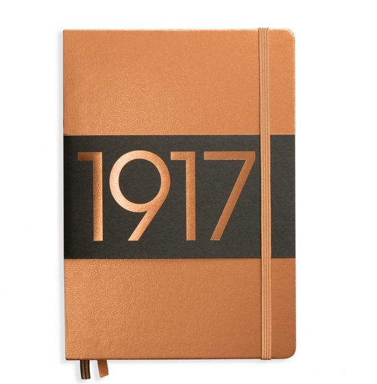 Leuchtturm1917 notitieboekje limited edition medium A5 dotted metallic brons