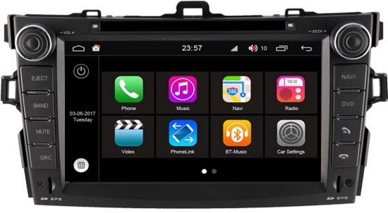 CAL-Q063 ANDROID NAVIGATIE S190 TOYOTA